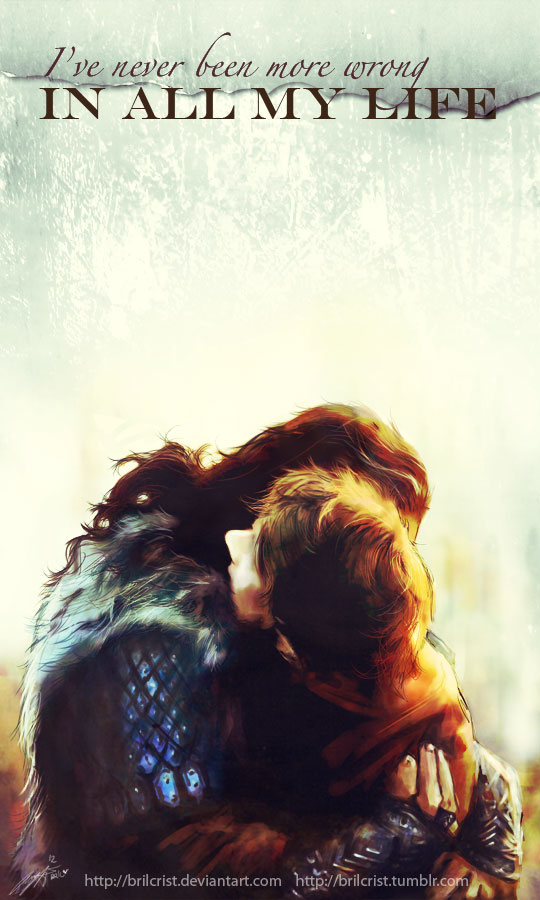 Thorin and Bilbo by Brilcrist