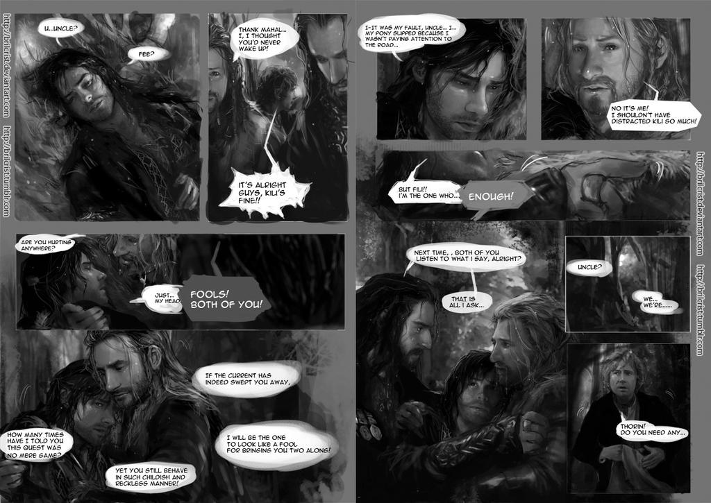 Hobbit Comic part 02 by Brilcrist