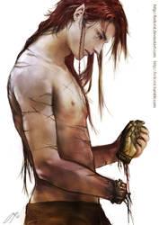 Maedhros - A Spare hand by Brilcrist