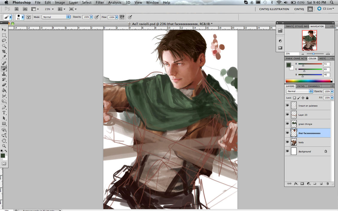 WIP Corporal Levi 2 by Brilcrist