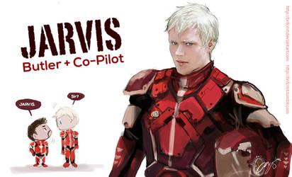 ironman x pacific rim Jarvis bonus by Brilcrist