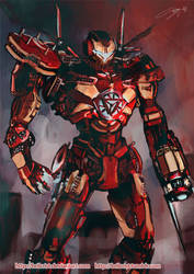 Iron Jaeger Design by Brilcrist