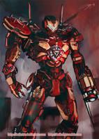 Iron Jaeger Design by Brilcrist