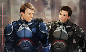Marvel x pacific rim: Steve Rogers03
