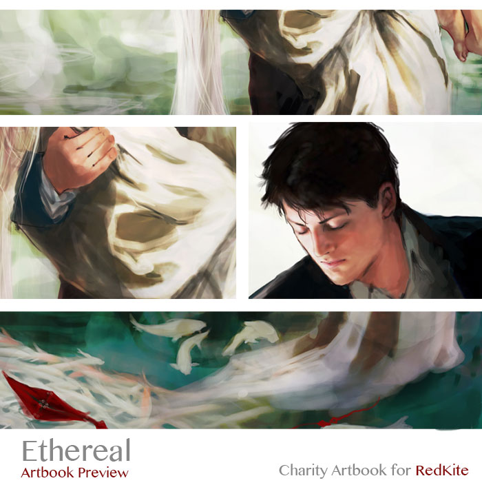 Ethereal Artbook Preview by Brilcrist