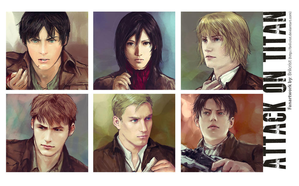 Attack on titan wallpaper by Brilcrist