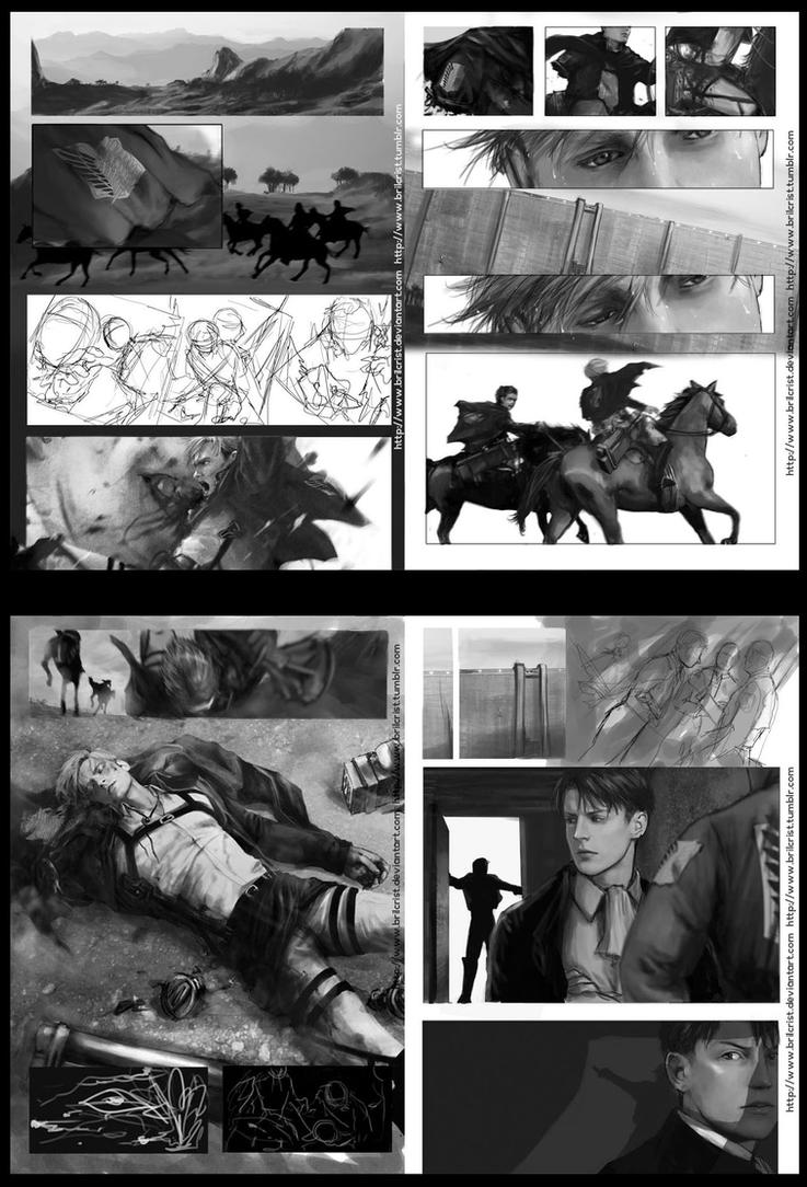 unfinished SNK fanbook by Brilcrist