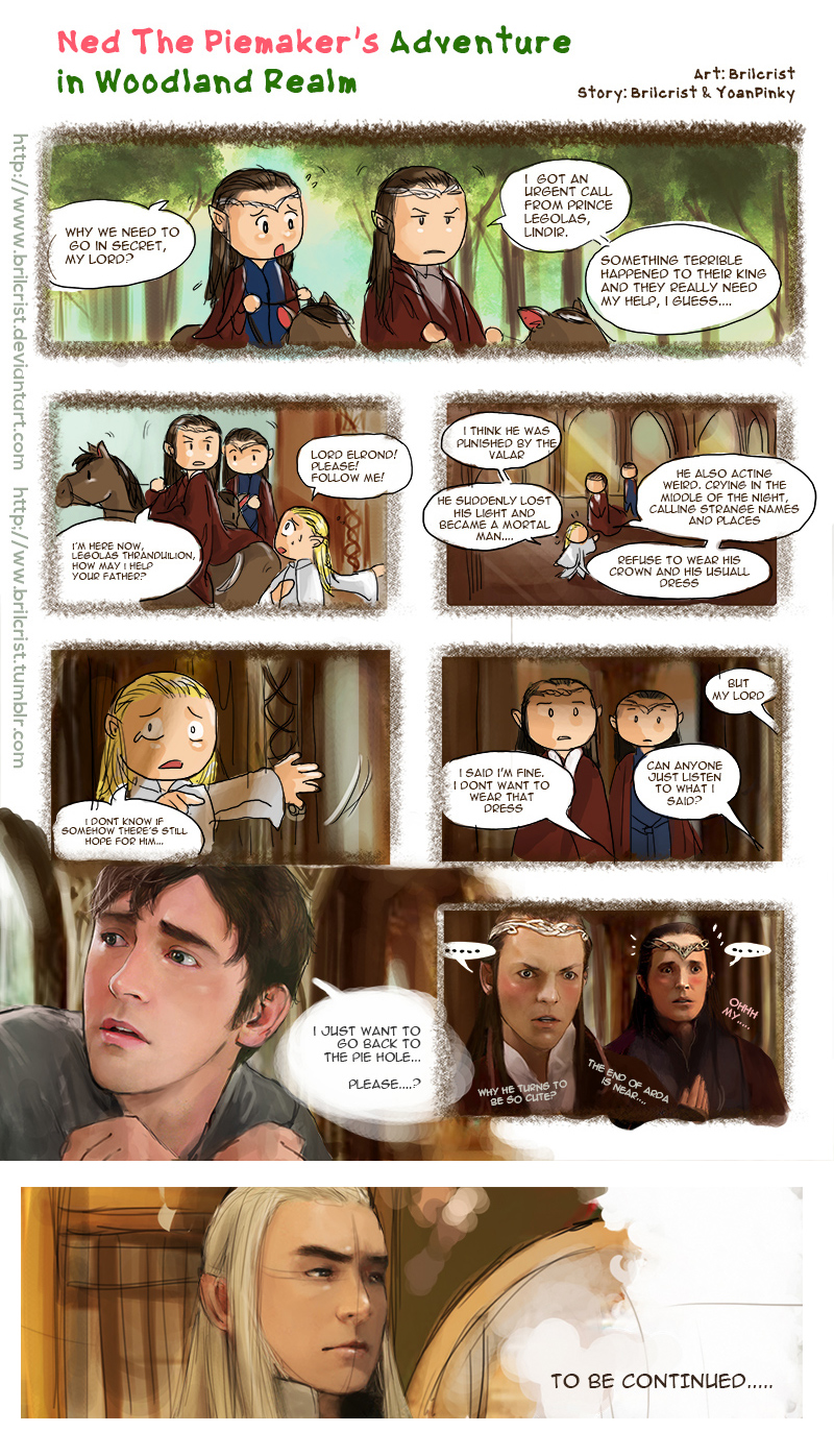 The Hobbit X Pushing Daisies part 2 by Brilcrist