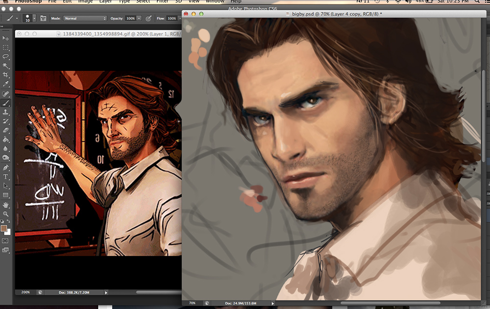 Wolf among Us WIP by Brilcrist