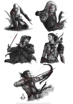 Assassin's Creed sketches