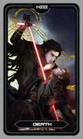 Kylux Death Tarot Card by Brilcrist