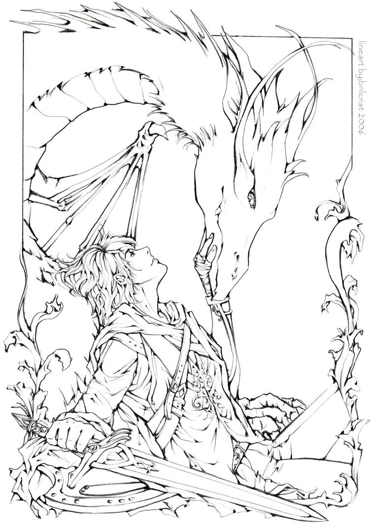 Last Clan Lineart By Brilcrist On DeviantArt