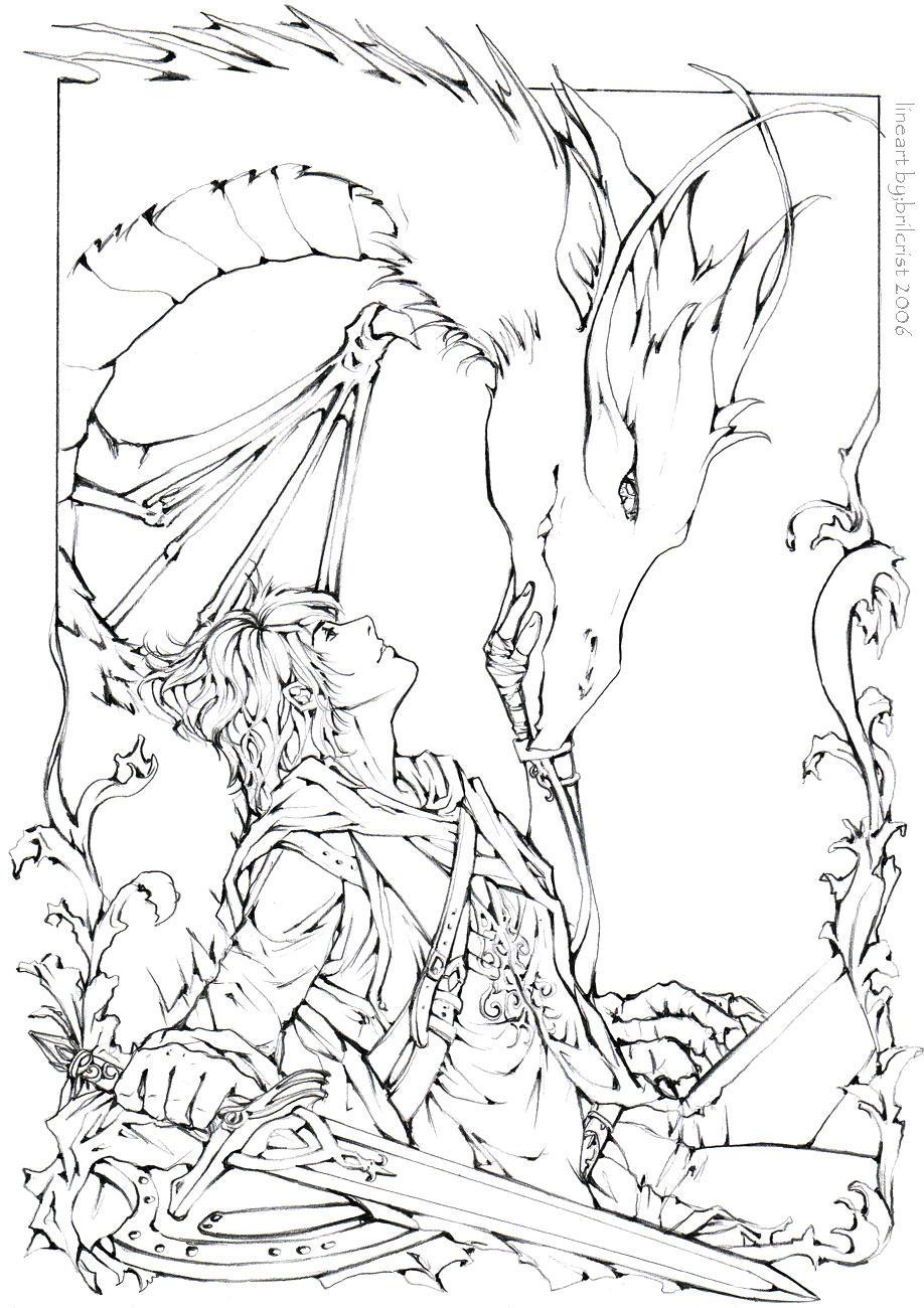 Last Clan Lineart By Brilcrist On Deviantart