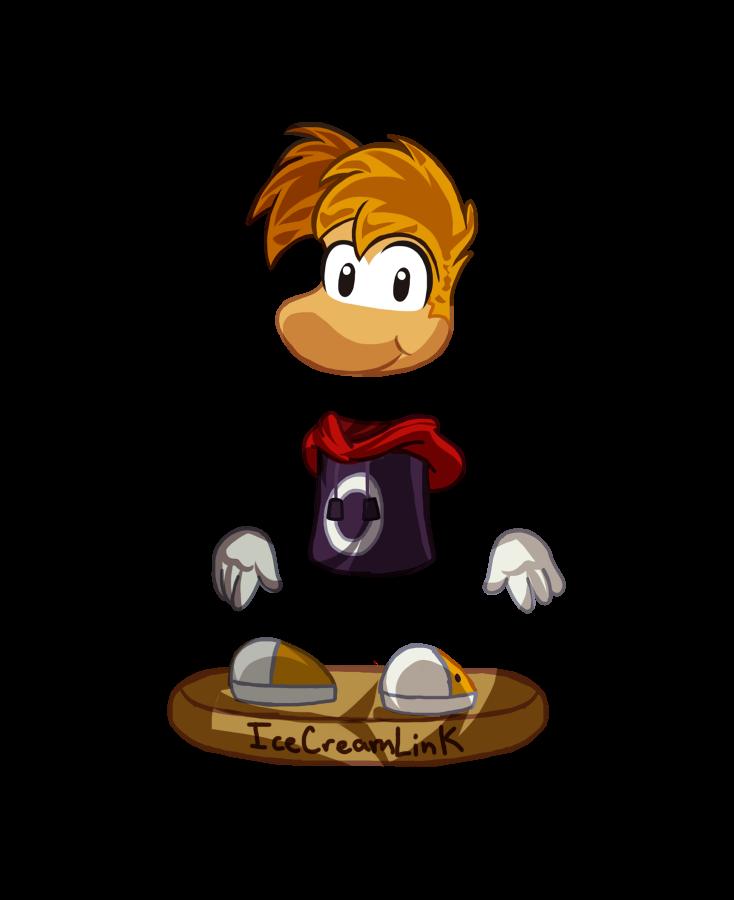 Chibi Rayman by IceCreamLink