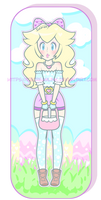 Spring Peach Colored by IceCreamLink