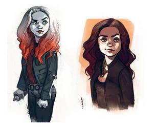 Meg Supernatural by LeoniAnnalisa