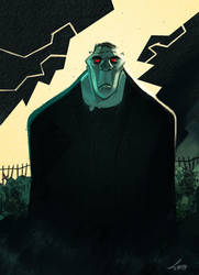 Frankenstein Cover( La Spiga Edizioni) by LeoniAnnalisa