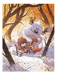 Sweet winter by LeoniAnnalisa