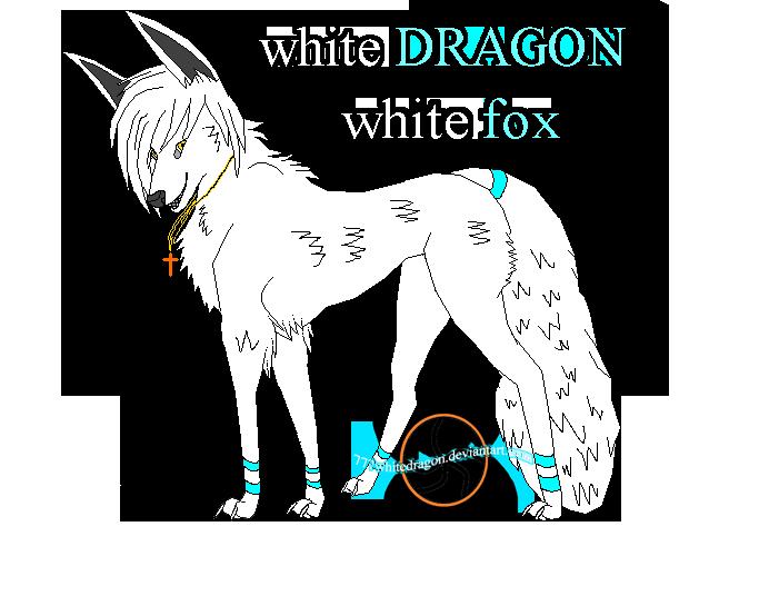 (9)whie DRAGON White fox by 777whiteDRAGON