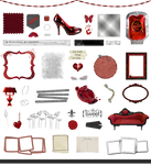 True Blood / Vampire: Word Art and Clear Cut PNG 9
