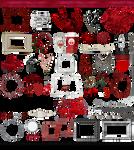 True Blood / Vampire: Word Art + Clear Cut PNG 10