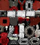 True Blood / Vampire: Word Art + Clear Cut PNG 12