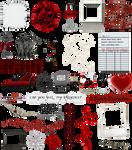 True Blood / Vampire: Word Art + Clear Cut PNG 13