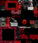 True Blood / Vampire: Word Art + Clear Cut PNG 15