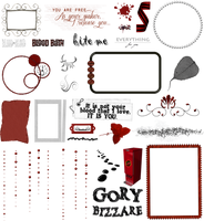 True Blood / Vampire: Word Art + Clear Cut PNG 17 by Riogirl9909stock