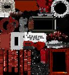 True Blood / Vampire: Word Art + Clear Cut PNG 17
