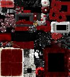 True Blood / Vampire: Word Art + Clear Cut PNG 18