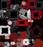 True Blood / Vampire: Word Art + Clear Cut PNG 19
