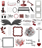 True Blood / Vampire: Word Art + Clear Cut PNG 31 by Riogirl9909stock