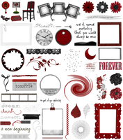 True Blood / Vampire: Word Art + Clear Cut PNG 32 by Riogirl9909stock