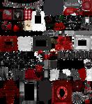 True Blood / Vampire: Word Art + Clear Cut PNG 34