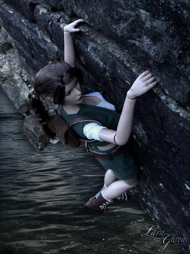 TR4:Custom Lara Croft Young 7 by Laragwen