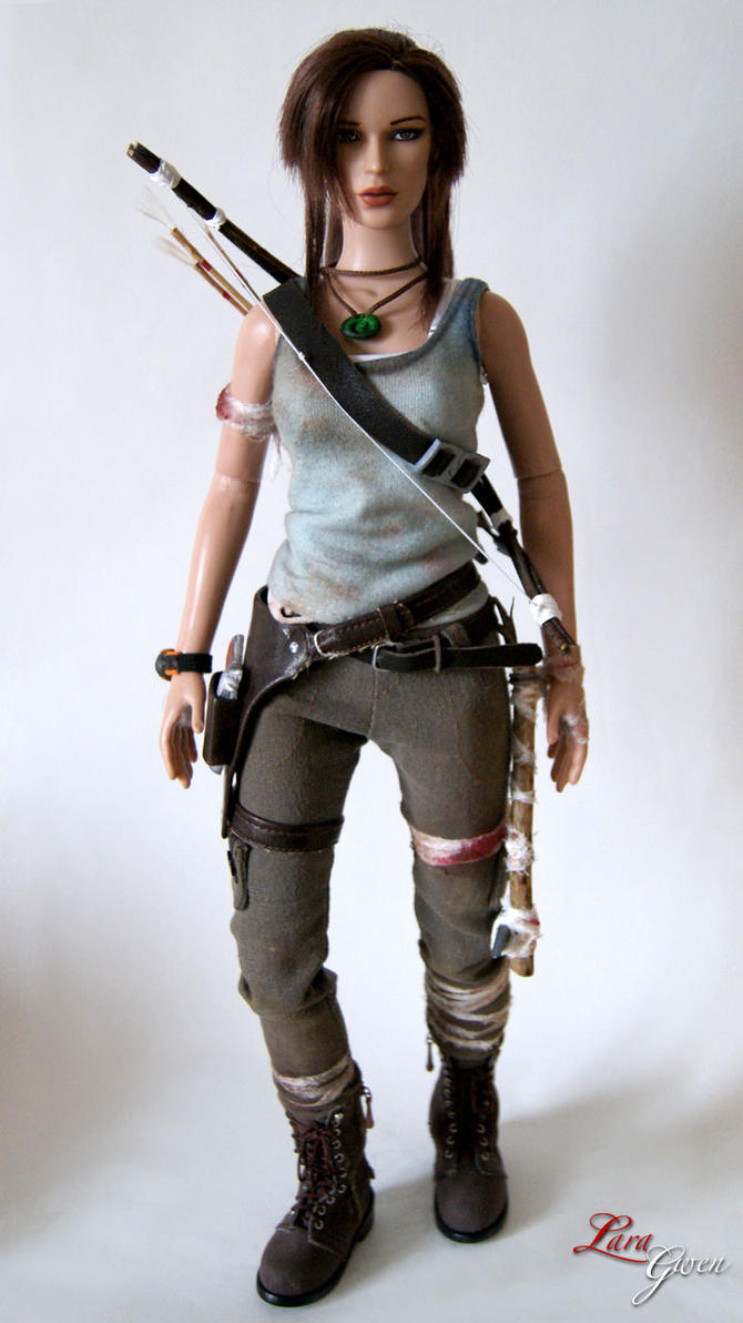 Custom Tomb Raider 9 (2013) - Dirty 01 by Laragwen