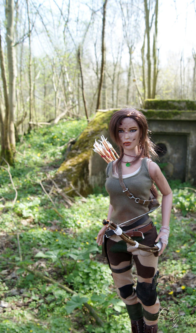 Tomb Raider 2013 - Hunter dirty outfit - 03 by Laragwen
