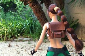 Custom doll Lara Croft Tomb Raider 3 Pacific South