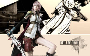 FFXIII Lightning :Sunset Pink: by ferlyl