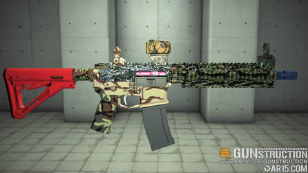 Colorful Explosion AR (Angle 2)