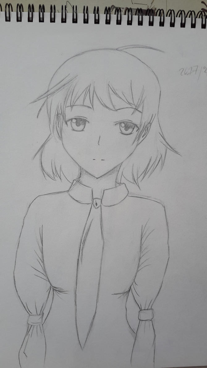 Sketch: Rin by nekoDawnlight