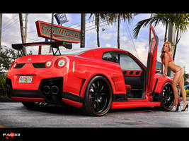 Nissan GT-R by pacee