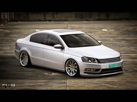 Volkswagen Passat by pacee