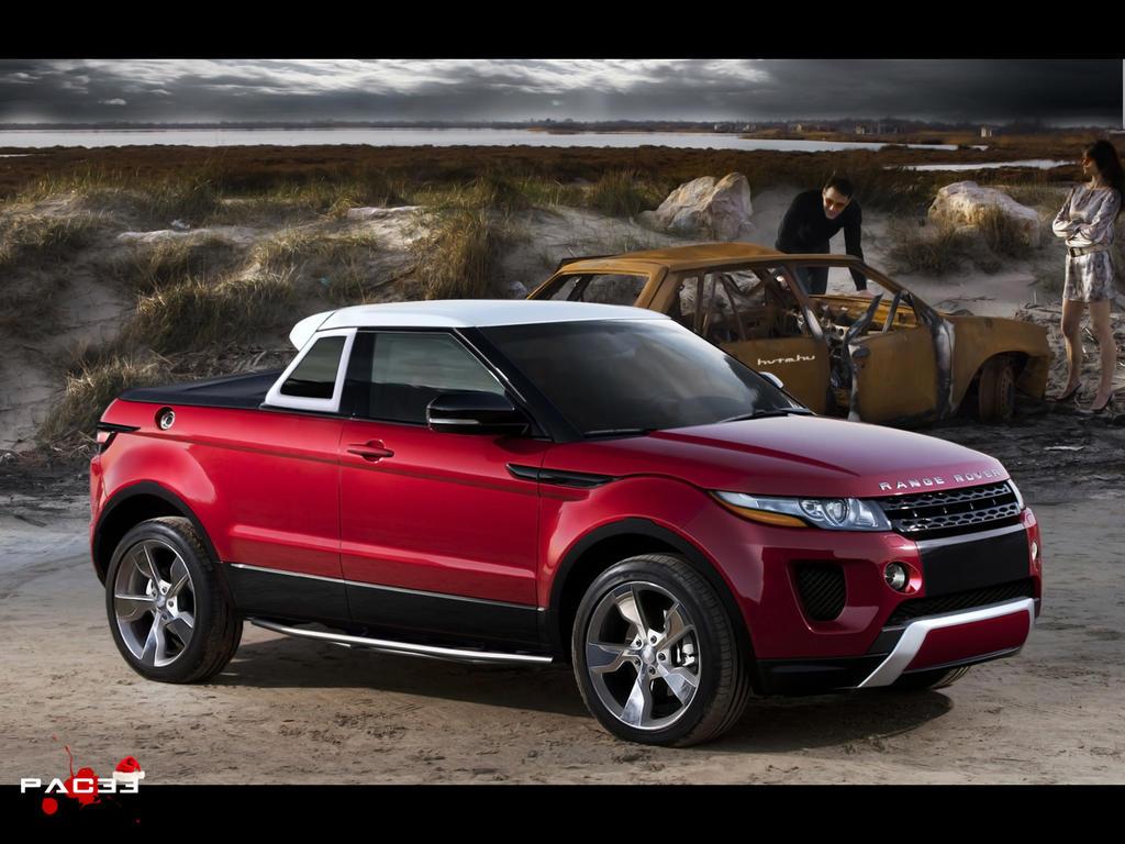 range rover evoque pickup by pacee on deviantart. Black Bedroom Furniture Sets. Home Design Ideas