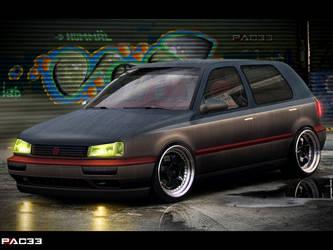 Volkswagen Golf III by pacee