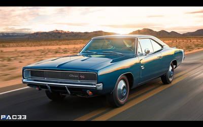 Dodge Charger 1968 by pacee