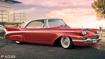Packard Hardtop Coupe 1958 by pacee