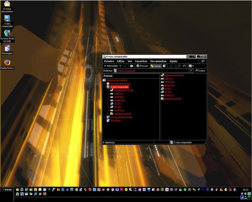 Desktop 03 RD by rendereddream