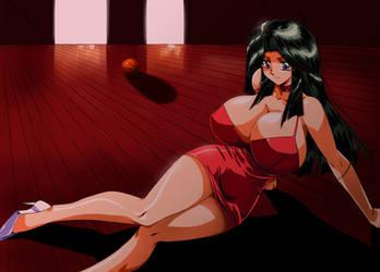 Ritsuko-sensei full commission by hinomars19 by Fatalizer